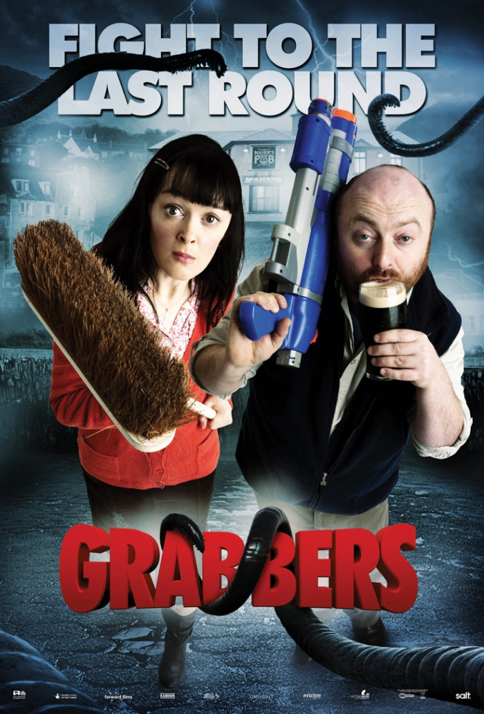 Grabbers Movie Poster Grabbers Characters Poster 2