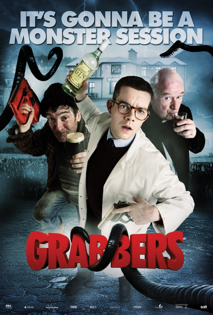 Grabbers Movie Poster Grabbers Characters Poster 3