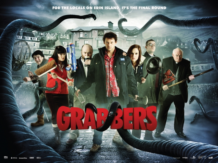 Grabbers Quad Poster